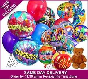 Balloon Bouquets and Mylar Balloons | Same Day Gift Delivery