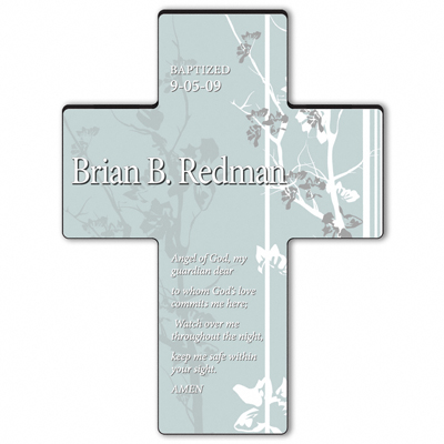 Guardian Angel Prayer Cross