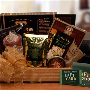 Large Book Lovers Barnes and Noble Gift Set ($25 Gift Card)