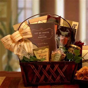 A Time To Grieve Sympathy Gift Basket - Gift Baskets and Gourmet Food Gift Baskets and Gourmet Food