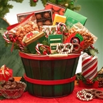 Holiday Traditions Snack Gift Basket - A bucket of holiday fun!