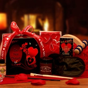 The Game of Love Romantic Care Package - Sexy Gift Baskets Gift Baskets and Gourmet Food
