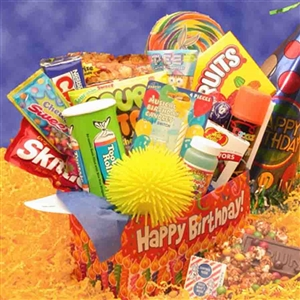 Birthday Surprise Deluxe Care Package - Surprise! The perfect gift to say Happy Birthday while you're away!