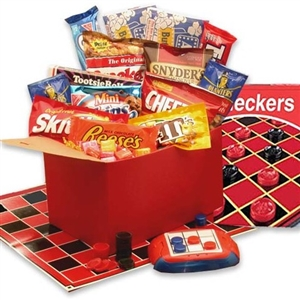 Game and Family Gift Basket