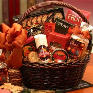 Gourmet Thank You Gift Basket - Thank You Baskets Gift Baskets and Gourmet Food