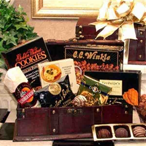Executive's Gourmet Desk Caddy - Corporate Baskets Gift Baskets and Gourmet Food