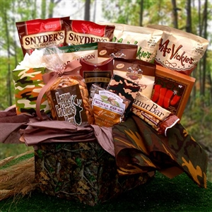 Camo Man Care Package - Gift Baskets and Gourmet Food Gift Baskets and Gourmet Food