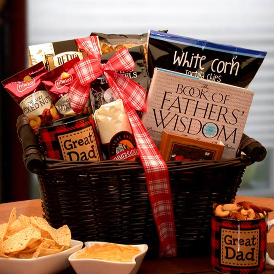 My Great Dad Gift Basket