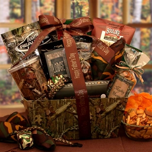 Camo Fathers Day Gift Set - Fathers Day Baskets Gift Baskets and Gourmet Food