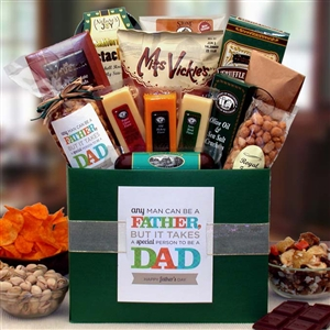 Special Man Dad Gift Box - Fathers Day Baskets Gift Baskets and Gourmet Food