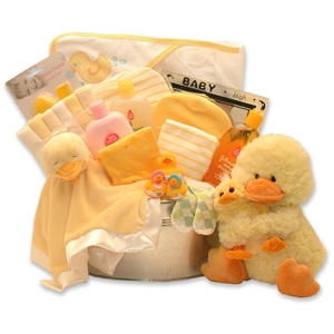 Baby Bath Time Gift Deluxe - Babies and New Parents Gift Baskets and Gourmet Food