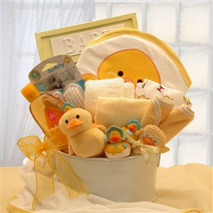 Baby Bath Time Gift - Babies and New Parents Gift Baskets and Gourmet Food