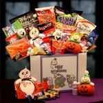 Halloween Boo Box Scare Package - Filled to the rim with Halloween tricks and treats the Boo Box is sure to please everyone.