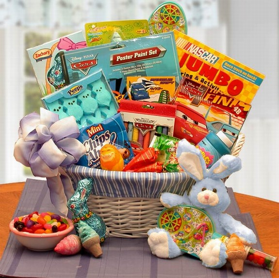 Easter gift basket giving ideas easter gift baskets negle Images