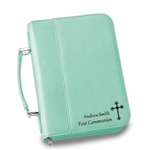 Personalized Faux Leather Large Bible Case