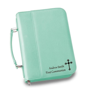 Personalized Faux Leather Large Bible Case - Personalized Gifts Personalized Gifts