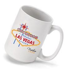 Vegas Wedding Party Coffee Mug Personalized