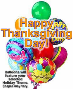 These radiant balloons are a treat for the eyes! - Dozen Mylar and Latex Balloons - Thanksgiving