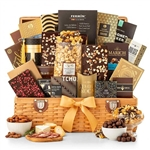 Grand Indulgence Gourmet Gift Basket - Our largest, most delicious gourmet gift basket!