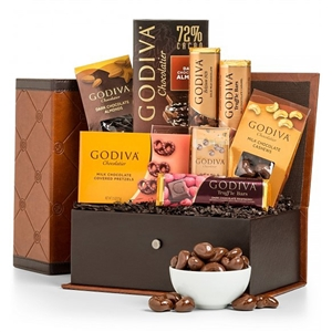 Chocolate Sensations Gift Chest - Chocolate Gifts Gift Baskets and Gourmet Food