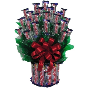 Baby Ruth Candy Bouquet - Candy Bouquets Gift Baskets and Gourmet Food