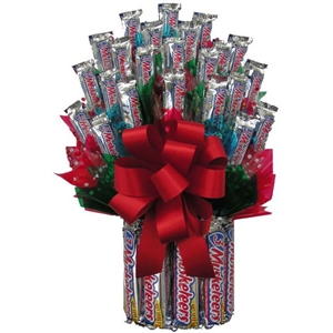 3 Musketeers Candy Bouquet beats the competition with its great taste and fun presentation!