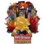 Birthday Candy Bouquet is the perfect way to wish them a happy birthday.