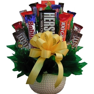 Golf Candy Bouquet - Candy Bouquets Gift Baskets and Gourmet Food