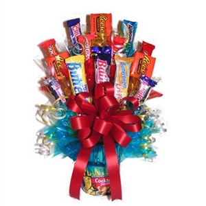 Peanuts and Candy Bouquet - Candy Bouquets Gift Baskets and Gourmet Food