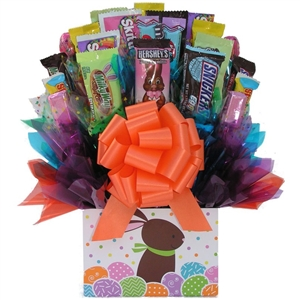 Easter Bunny Candy Bouquet - Candy Bouquets Gift Baskets and Gourmet Food