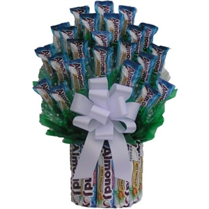 Almond Joy Candy Bouquet - Candy Bouquets Gift Baskets and Gourmet Food