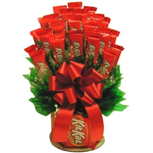 KitKat Candy Bouquet - Candy Bouquets Gift Baskets and Gourmet Food