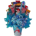 Holiday Candy Bouquett a sweet mix of candies and chocolate