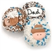Father's Day Chocolate Dipped Oreo© Cookies  Gift Box - Oreo Cookies dipped in a variety of high quality Belgian Chocolates.