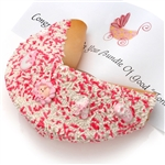 New Baby Girl Giant Fortune Cookie