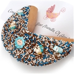 New Baby Boy Giant Fortune Cookie