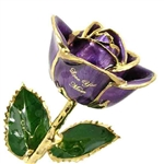 Mothers Birthstone Rose  - Choose Colors and Message