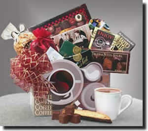 Coffee Lovers Gift Basket | gourmet coffee gift basket | gourmet coffee gift | coffee gift set