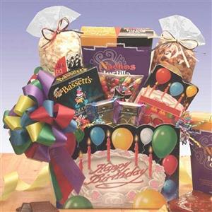 Happy Birthday Gift Box - Birthday Baskets Gift Baskets and Gourmet Food