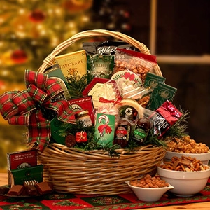 Buy holiday food gift baskets - Holiday Gift Basket