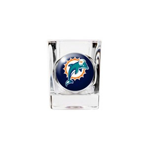 Personalized Miami Dolphins Shot Glass