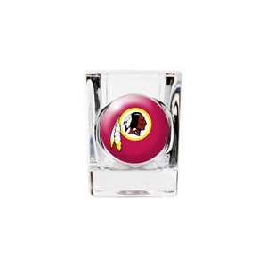 Personalized Washington Redskins Shot Glass