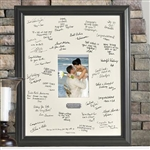 Personalized Wedding Wishes Frame