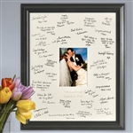 Personalized Laser Etched Wedding Frame