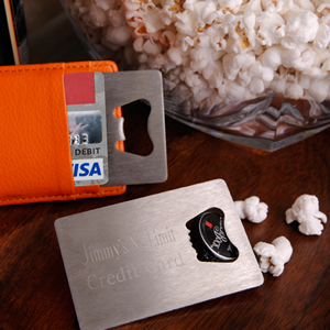 Credit Card Bottle Opener Personalized