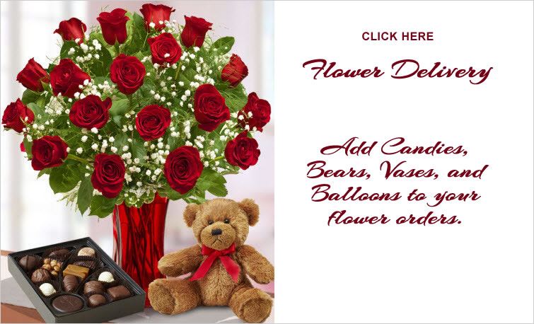 valentines day flowers and valentine roses - Valentine Flower Delivery