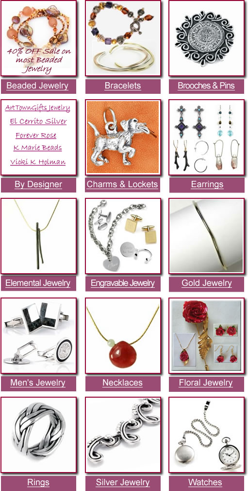 Handcrafted fashion jewelry