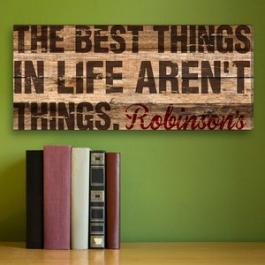 Personalized Best Thing In Life Canvas Print