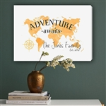 Personalized Adventure Awaits Canvas Print