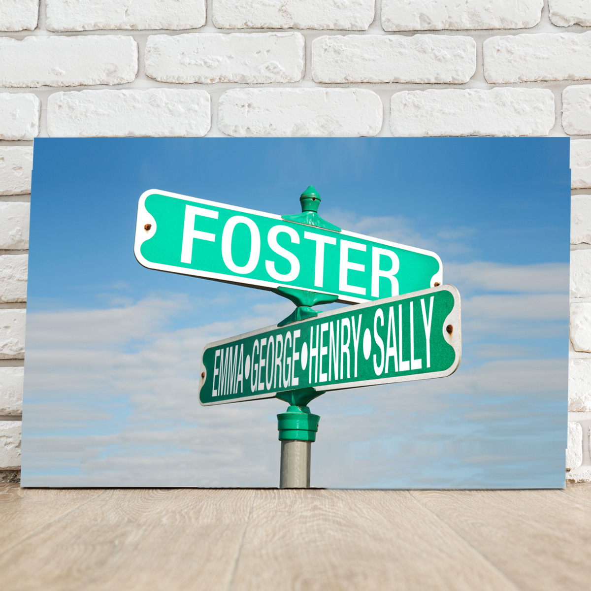 Street Sign Canvas | Personalized Canvas Signs | Street Signs